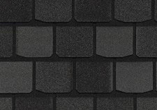 CertainTeed Highland Slate - Charcoal black